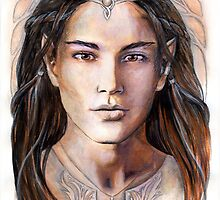 Young elven prince by jankolas