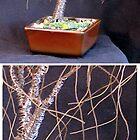SMALL BONSAI ELM - Wire Tree Sculpture by Sal Villano