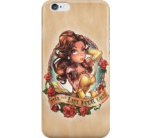 Till the Last Petal Falls iPhone Case/Skin