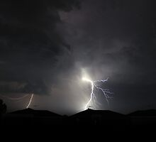 lightning before the storm. by stephenpretty