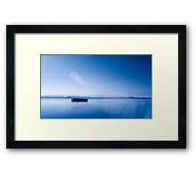 The World Is A Picture Framed Print