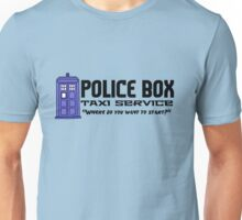 Time Taxi Unisex T-Shirt