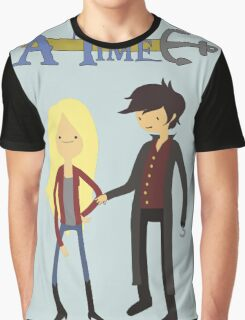 Once Upon An Adventure Time Graphic T-Shirt