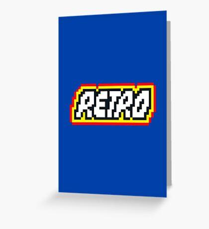 Retro | 8 Bit 80s Geek Greeting Card