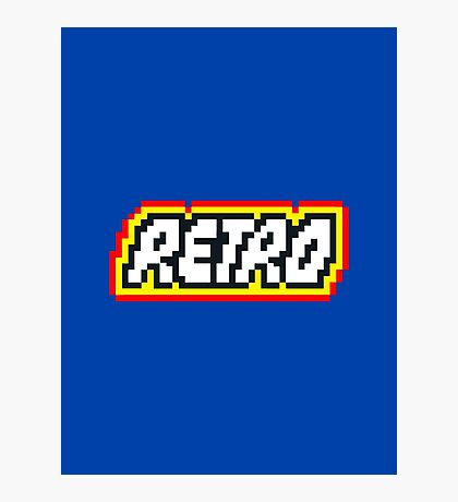 Retro | 8 Bit 80s Geek Photographic Print