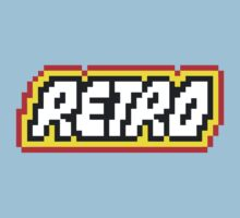 Retro | 8 Bit 80s Geek Kids Tee
