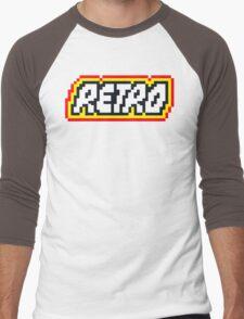 Retro | 8 Bit 80s Geek Men's Baseball ¾ T-Shirt