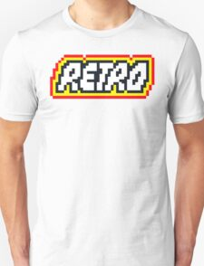 Retro | 8 Bit 80s Geek Unisex T-Shirt