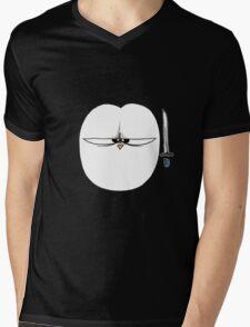 Fat Penguin Ninja Mens V-Neck T-Shirt