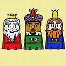 Three kings by garigots
