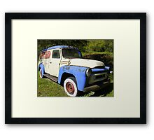 Rust Bucket Framed Print