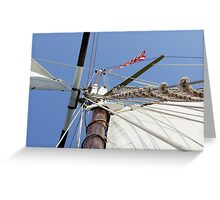 Mighty Mast Greeting Card