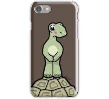 Tort-ally Naked Tortoise iPhone Case/Skin