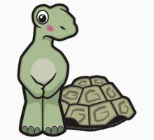 Tort-ally Naked Tortoise Kids Tee