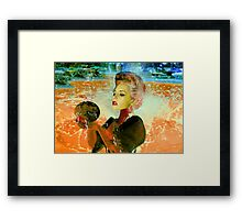 Electric cyborg  Framed Print