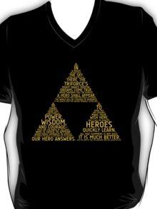 Legend of Zelda Typography T-Shirt