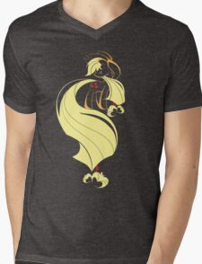Apple Pairing Mens V-Neck T-Shirt
