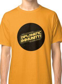 Hollywood Babble-On: Diplomatic Immunity! Classic T-Shirt
