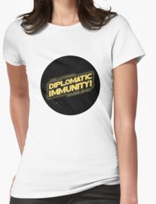 Hollywood Babble-On: Diplomatic Immunity! T-Shirt