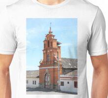 Facade of Immantag Church Unisex T-Shirt