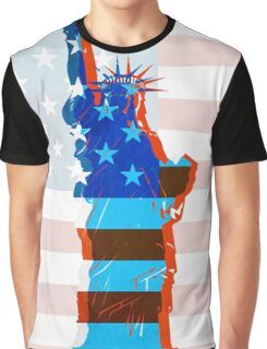 Statue of liberty / USA Graphic T-Shirt