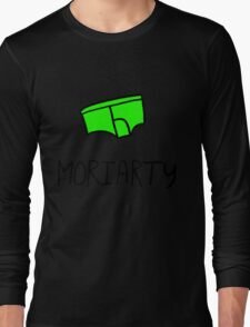 Moriarty - Black Outline Long Sleeve T-Shirt