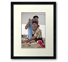Master Chef Framed Print