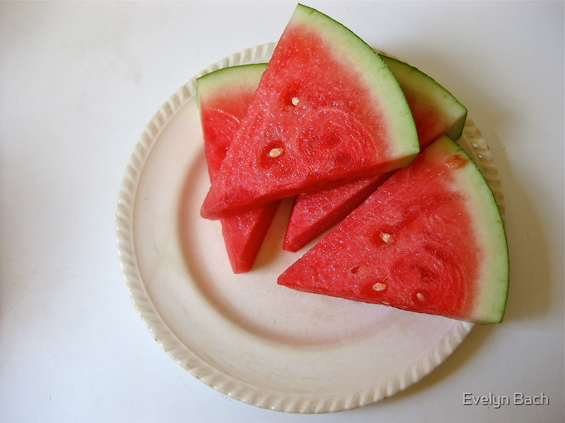 4/1 fruit for breakfast.  by Evelyn Bach