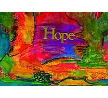 HOPE in All Colors Photographic Print
