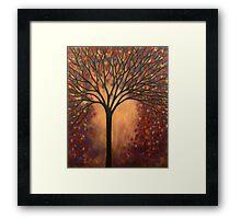 Impression of Autumn Tree Framed Print