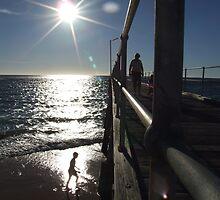 as the sun sets - port noarlunga, south australia by BreeDanielle