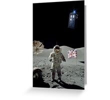 Doctored Moon Landing | Card and iPhone Case Greeting Card
