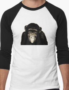 Monkey Sepia Men's Baseball ¾ T-Shirt