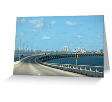 The Road to South Padre Island Greeting Card