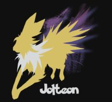 Jolteon Silhouette Shirt by jewlecho