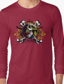 Zombie shield 2 Long Sleeve T-Shirt