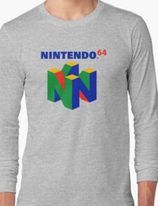 N64 Long Sleeve T-Shirt