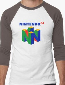 N64 Men's Baseball ¾ T-Shirt