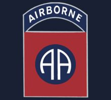 82nd Airborne Division - The All Americans Insignia Kids Tee