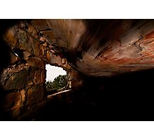 Fisherman's cave Royal National Park Photographic Print