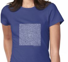 Ulam's Spiral Womens Fitted T-Shirt
