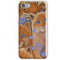 Bobcat Kittens2 iPhone Case/Skin