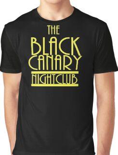 Black Canary Nightclub Graphic T-Shirt
