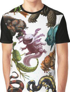 Reptiles & Amphibians  Graphic T-Shirt