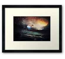Shooting For The Moon :0) Xxx Framed Print