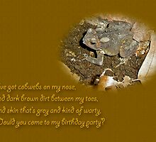 Birthday Party Invitation - Common Toad - Child by MotherNature