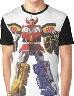 Mighty Morphin Power Rangers Megazord Graphic T-Shirt