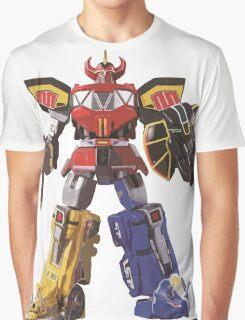 Mighty Morphin Power Rangers Megazord Graphic T-Shirt