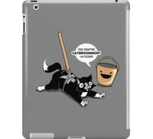 Cat Broom Mop | Geek Retro Gamer iPad Case/Skin