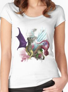 Discord Shirt Women's Fitted Scoop T-Shirt